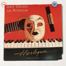 Dave Grusin / Lee Ritenour ‎– Harlequin U.S. Promotional Copy